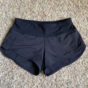 Lululemon Size 2 Black Shorts